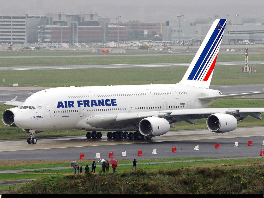 法航9月起开通巴黎至上海航班